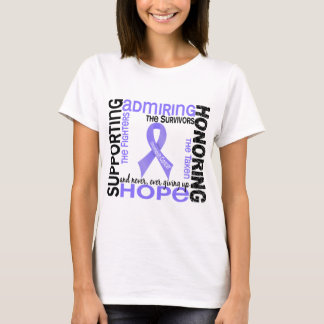 Supporting Admiring Honoring 9 Stomach Cancer T-Shirt