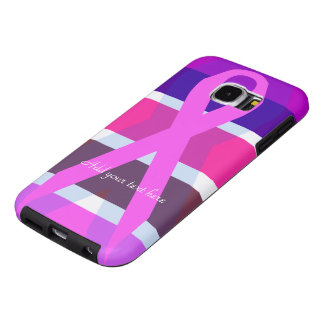 Supporting Breast Cancer Samsung Galaxy S6 Cases