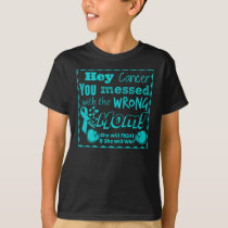 supporting Cervical Cancer tshirt