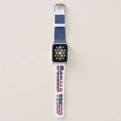 Supporting Donald Trump Apple Watch Band