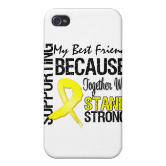 Supporting My Best Friend We Stand Strong - Milita iPhone 4 Cover