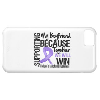 Supporting My Boyfriend - Hodgkin s Lymphoma iPhone 5C Cover