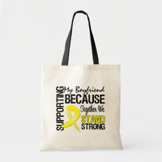 Supporting My Boyfriend We Stand Strong - Military Tote Bag
