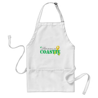 Supporting My Coastie Adult Apron