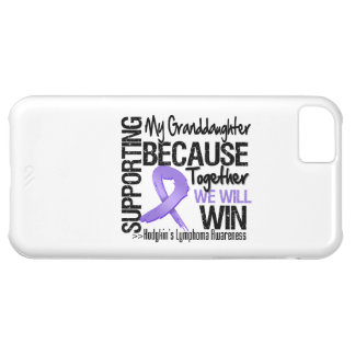Supporting My Granddaughter - Hodgkin s Lymphoma Case For iPhone 5C