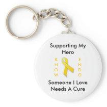 Supporting My Hero, Endo Awareness Keychain