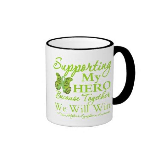 Supporting My Hero - Non-Hodgkins Lymphoma Mug