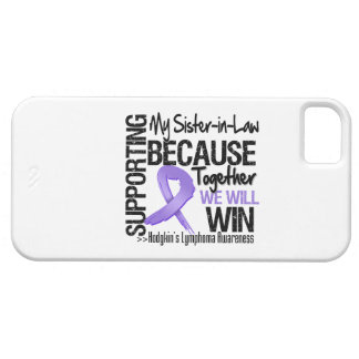 Supporting My Sister-in-Law - Hodgkin s Lymphoma iPhone 5 Covers