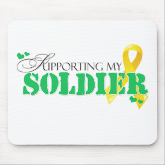Supporting My Soldier Mouse Pad