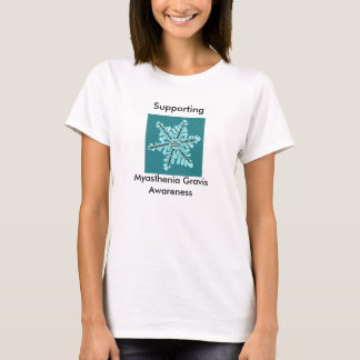 Supporting Myasthenia Gravis Awareness T-Shirt