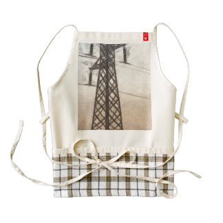 Supporting power everywhere zazzle HEART apron