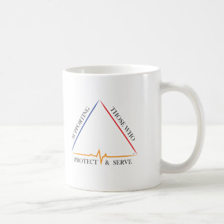 Supporting Those Who Protect & Serve Coffee Mug