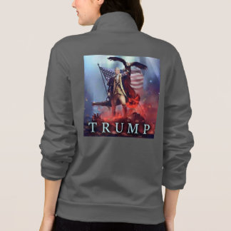 Supporting Trump jacket