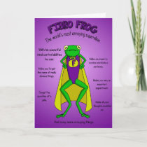 Supportive card for fibromyalgia