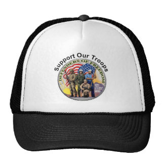 Supports Our Troops Trucker Hat