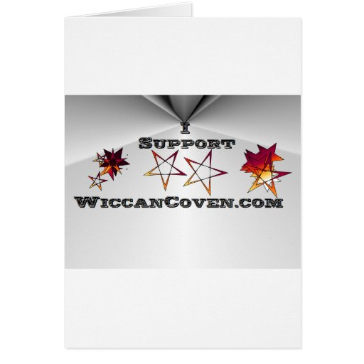 SupportWiccanCoven Greeting Card