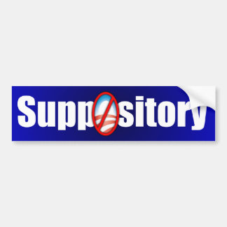 Suppository Bumper Stickers