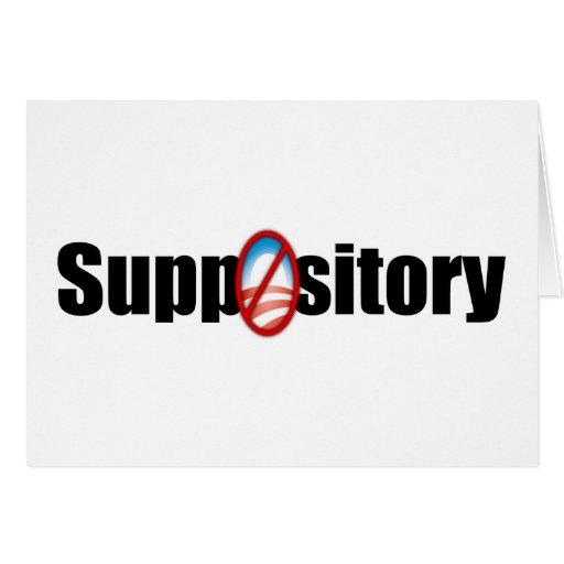 Suppository Tarjeta De Felicitación