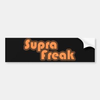 Supra Freak Bumper Sticker