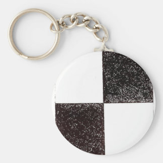 Suprematic Group by Kazimir Malevich Keychain