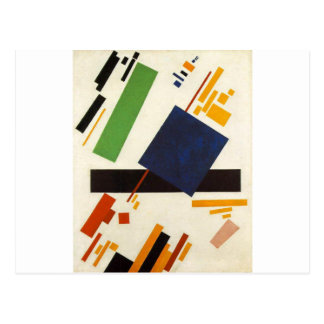 Suprematic Painting by Kazimir Malevich Postcard