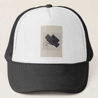 Suprematic track by Kazimir Malevich Trucker Hat