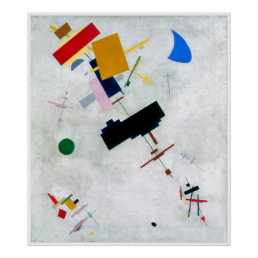 Suprematism (abstract art) ~ poster