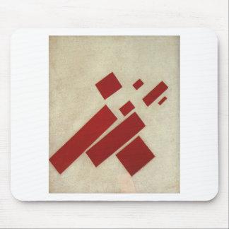 Suprematism con ocho rectángulos de Kazimir Malev Alfombrillas De Ratón
