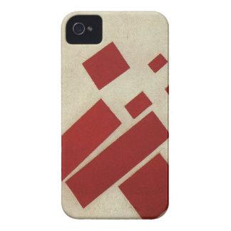 Suprematism con ocho rectángulos de Kazimir Malev iPhone 4 Cárcasas