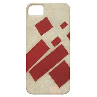 Suprematism con ocho rectángulos de Kazimir Malev iPhone 5 Carcasa