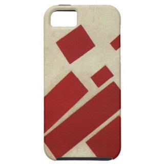 Suprematism con ocho rectángulos de Kazimir Malev iPhone 5 Fundas