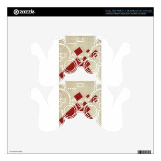 Suprematism con ocho rectángulos de Kazimir Malev Skins Para Mandos PS3