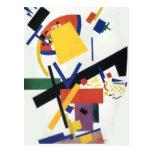 Suprematism de Kazimir Malevich Tarjeta Postal
