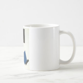 Suprematism. Self Portrait in two dimensions Coffee Mug
