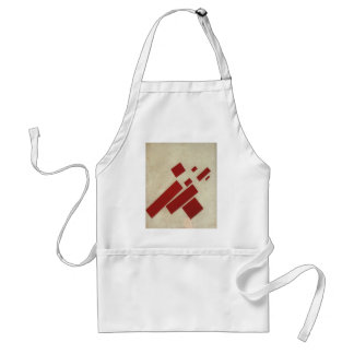 Suprematism with eight rectangles by Kazimir Malev Adult Apron