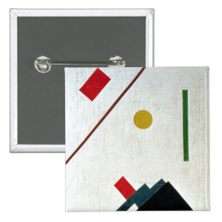Suprematist Composition, 1915 Pinback Buttons