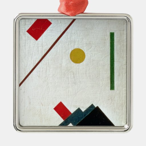 Suprematist Composition, 1915 Christmas Ornaments