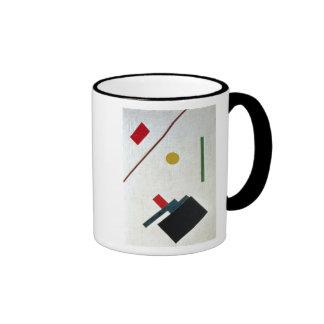 Suprematist Composition, 1915 Ringer Coffee Mug