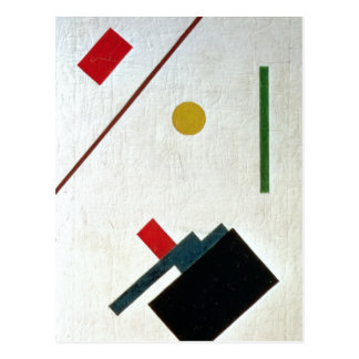 Suprematist Composition, 1915 Postcard