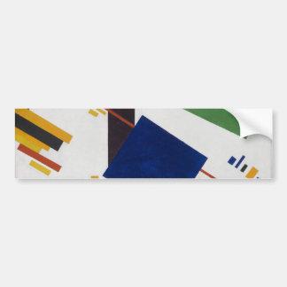 Suprematist Composition by Kazimir Malevich 1916 Bumper Sticker