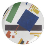 Suprematist Composition by Kazimir Malevich 1916 Plate