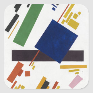Suprematist Composition by Kazimir Malevich 1916 Square Sticker