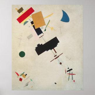 Suprematist Composition No 56 1936 Print