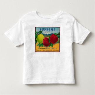 Supreme Apple Label - Washington State Toddler T-shirt