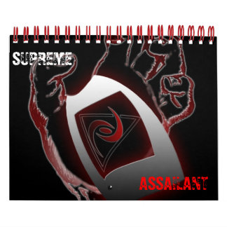 SUPREME ASSAILANT CALENDAR