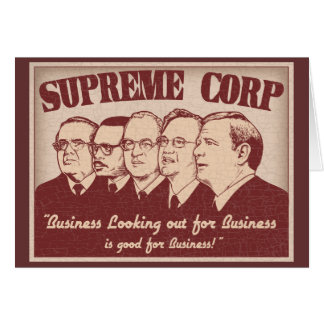 Supreme Corp Greeting Card