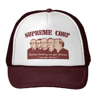 Supreme Corp Mesh Hat