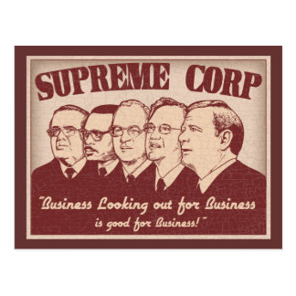 Supreme Corp Postcards