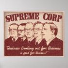 Supreme Corp Poster