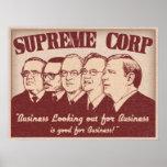 Supreme Corp Print